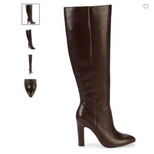 Saks Fifth Avenue Kortnee Leather Boots - NWT/BOX